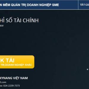 TRANG CHU PHAN MEM PHAN TICH CHI SO TAI CHINH