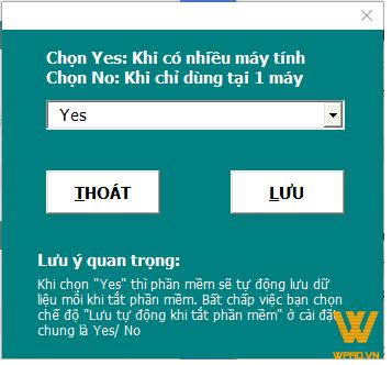 thiet lap tinh nang chan nhieu nguoi cung nhap du lieu