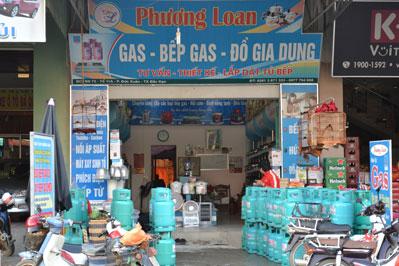 quản lý cửa hàng gas