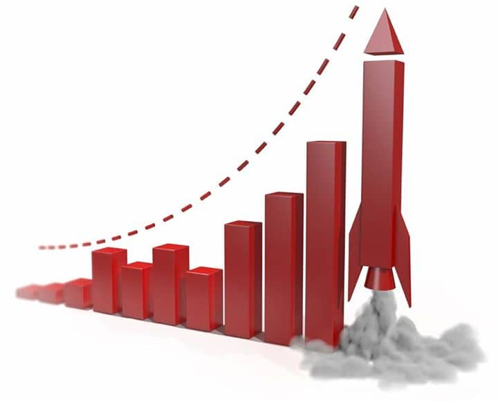Vẽ biểu đồ doanh số bằng excel