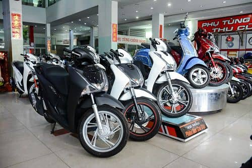 Kinh doanh cửa hàng bán xe máy đảm bảo thành công 100% nếu bạn nắm rõ các quy luật sau đây