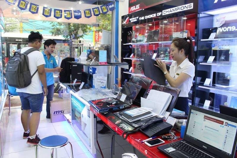 Kinh doanh cửa hàng linh kiện máy tính