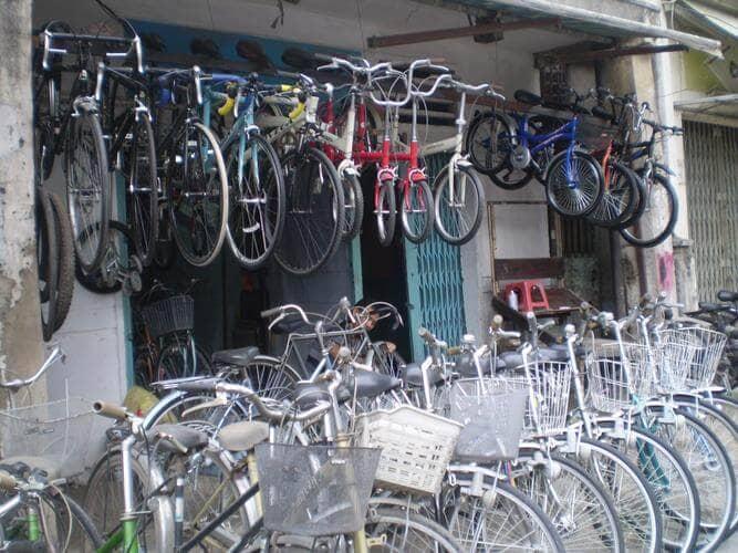 Mở cửa hàng thanh lý cửa hàng xe đạp cũ dễ hay khó? Bạn sẽ phải phải chuẩn bị những gì để kinh doanh thành công ?